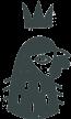 King Cockerel Logo of cockerel head